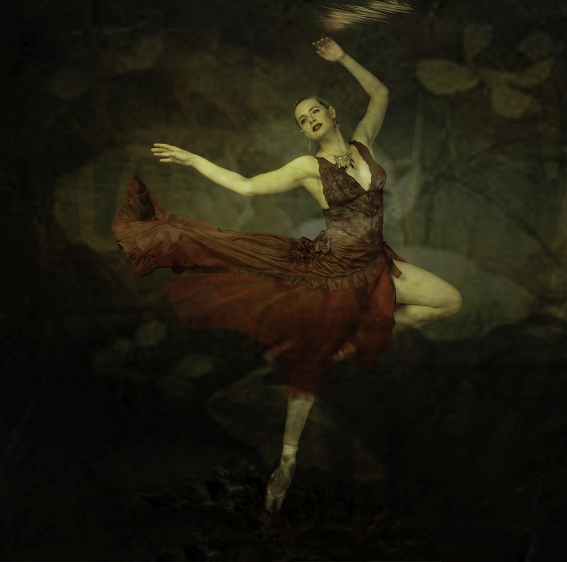 Laurie Campbell Underwater Ballerina