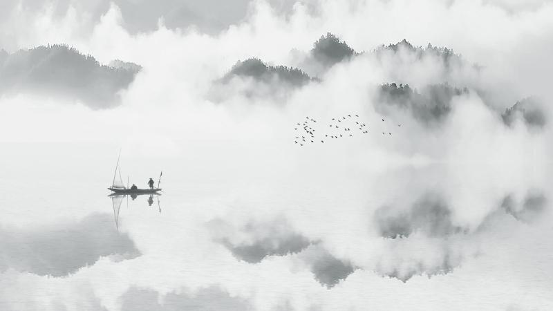 Kai Zheng Landscape freehand