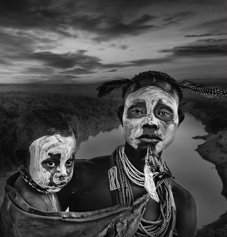 Karo Lady And Child, Boytell  Kerry , Australia