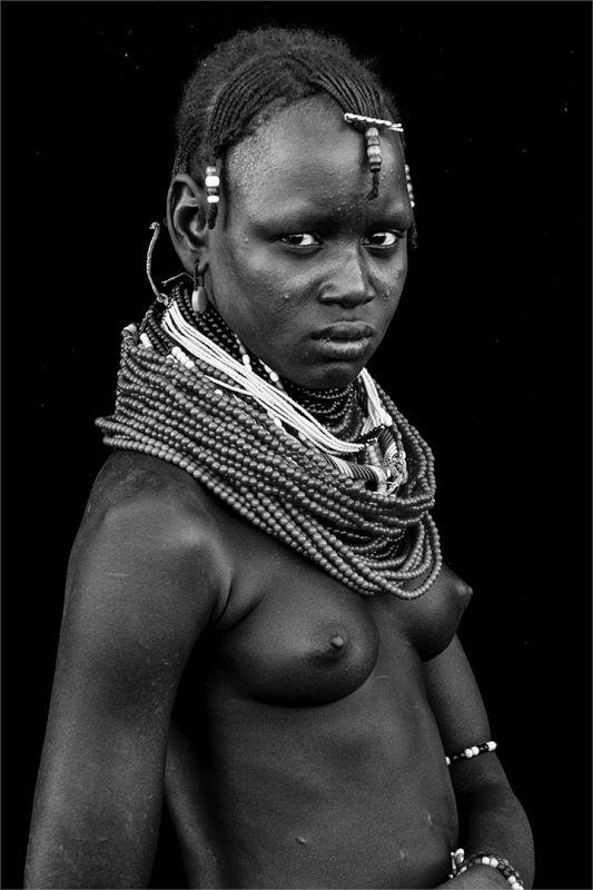 Young Daasanech Girl, Boytell  Kerry , Australia