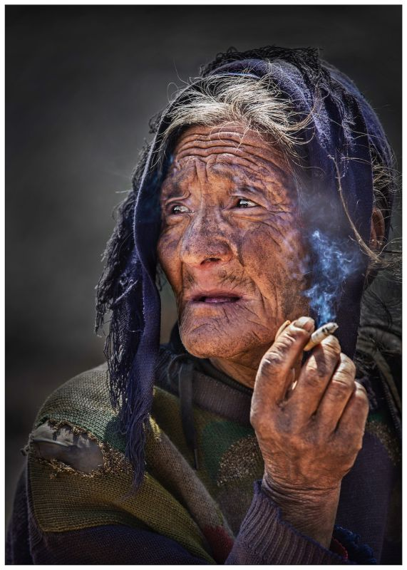 An Old Lady, Wong  Yan , China