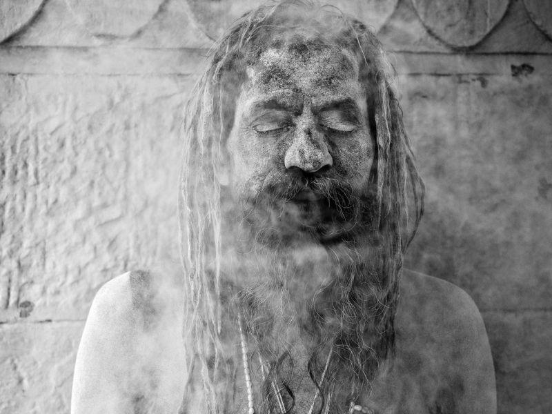 Varanasi Sadhu Bw 02, Schmidt  Barbara , Germany