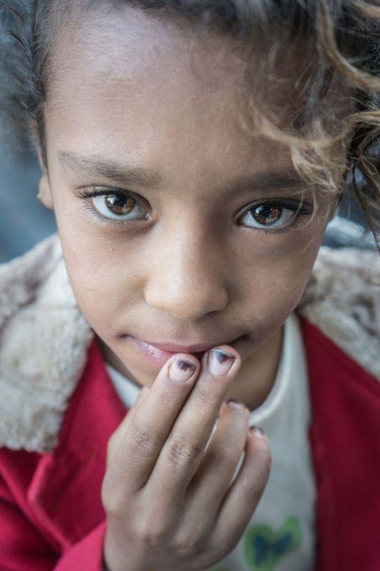 Portrait Of An Egyptian Child, Pinzone  Riccardo , Italy
