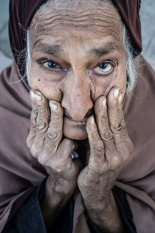 Portrait Of An Egyptian Woman, Pinzone  Riccardo , Italy