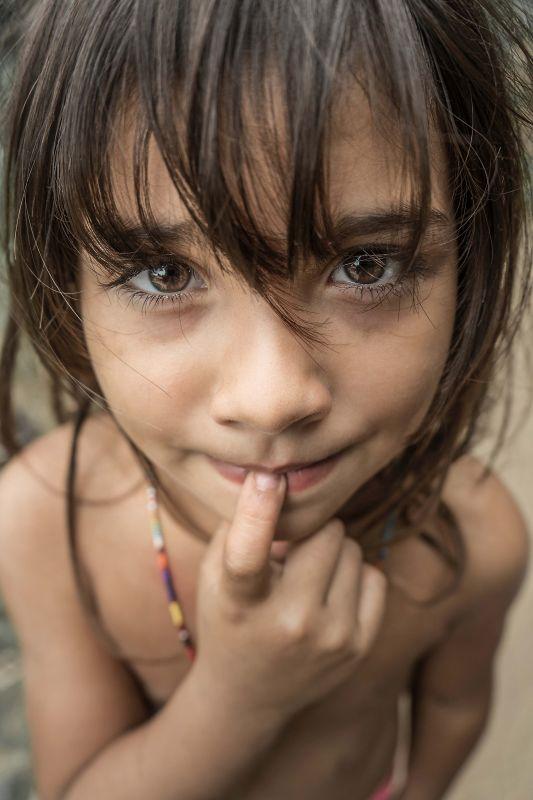 Portrait Of A Colombian Child, Pinzone  Riccardo , Italy