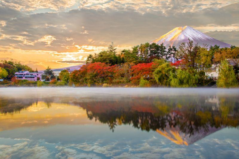 Mt Fuji, Tran  Yen , Usa