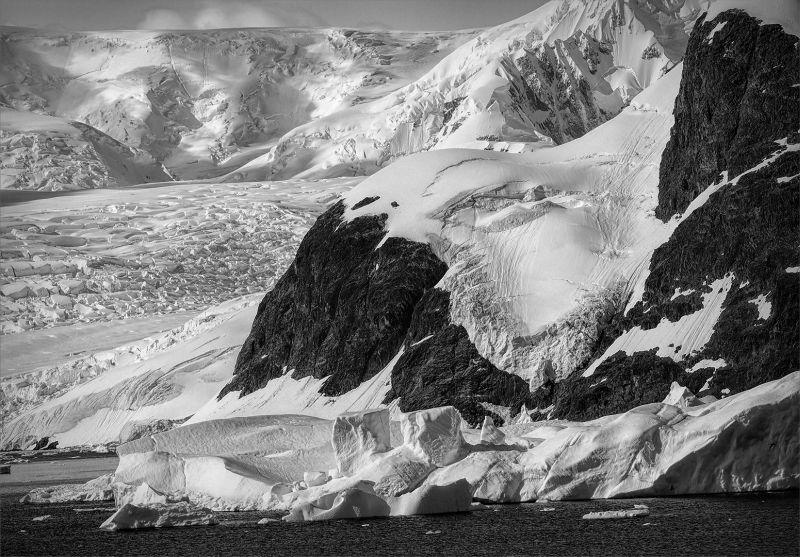 A Dramatic Glacier In Antartica, Webster  Jennifer Margaret , England