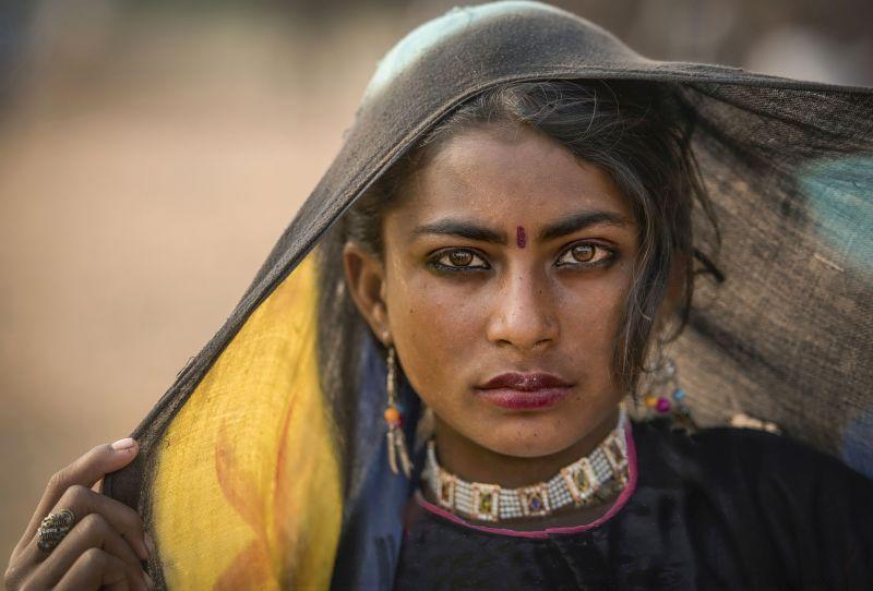 Expressive Eyes, Nawab  Rana Jabeen , India