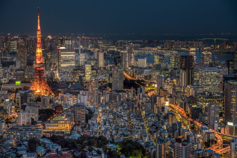 Tokyo Density, Nawab  Rana Jabeen , India