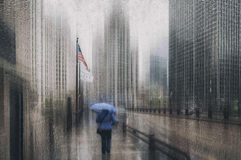 Rain In Chicago, Schleicher-schwarz  Roswitha , Germany