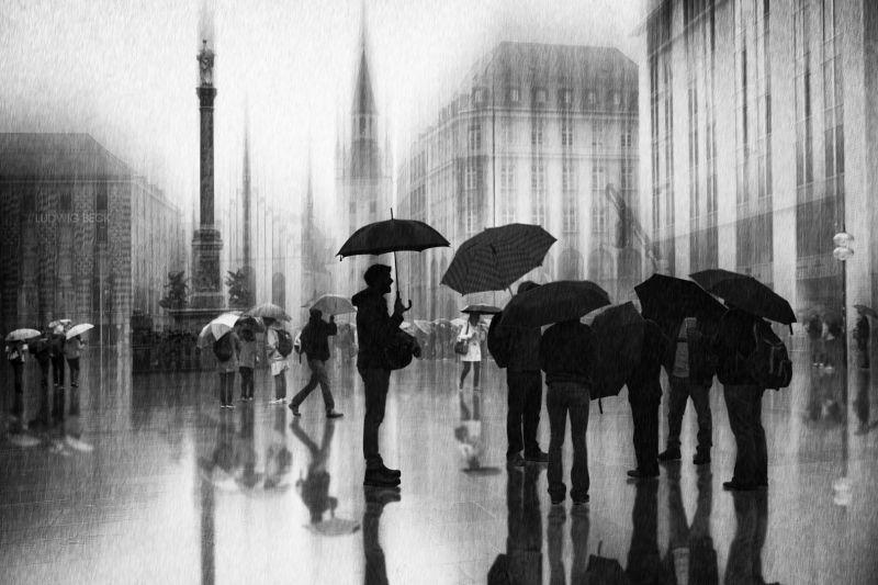 Rain In Munich, Schleicher-schwarz  Roswitha , Germany