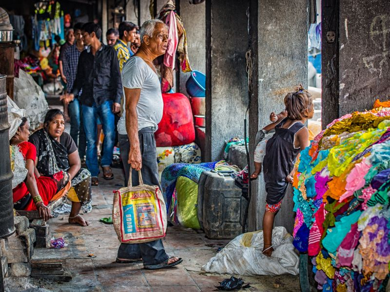 Dhobi Gath Laundry In Mumbai, Mathisen  Hans Ertzeid , Norway