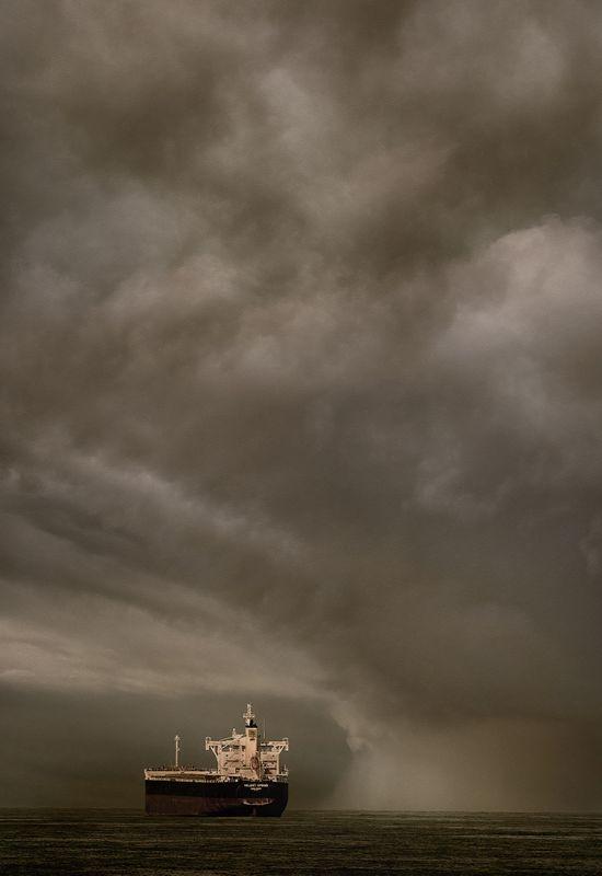 Storm At Sea, English  Dianne , Australia