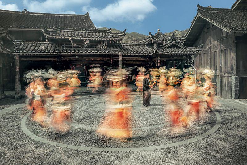 Enjoy Dancing, Tong  Jiangchuan , China