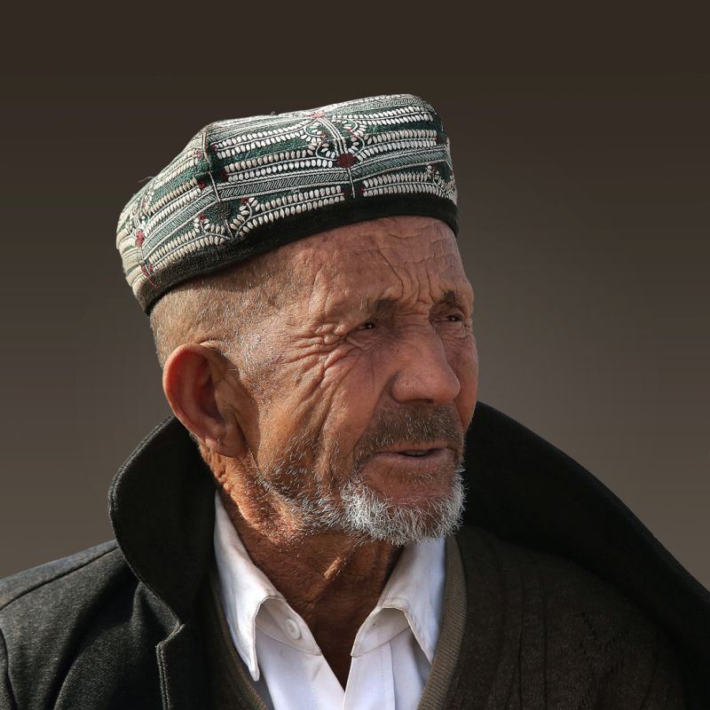 Uygur Elderly, Zheng  Kai , China