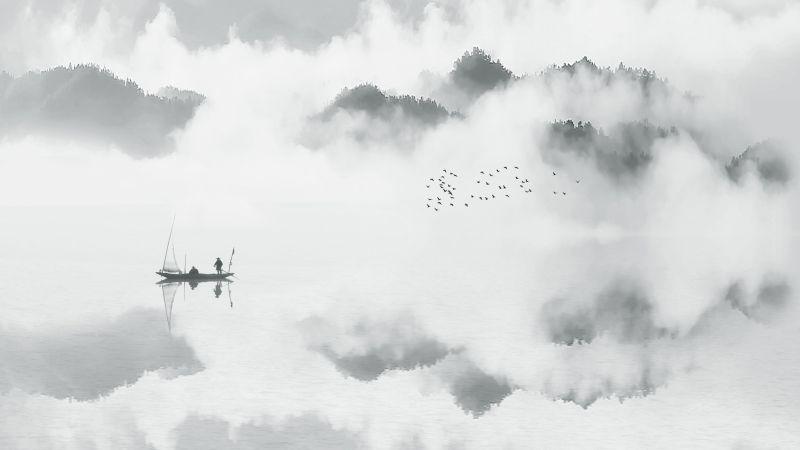 Landscape Freehand, Zheng  Kai , China