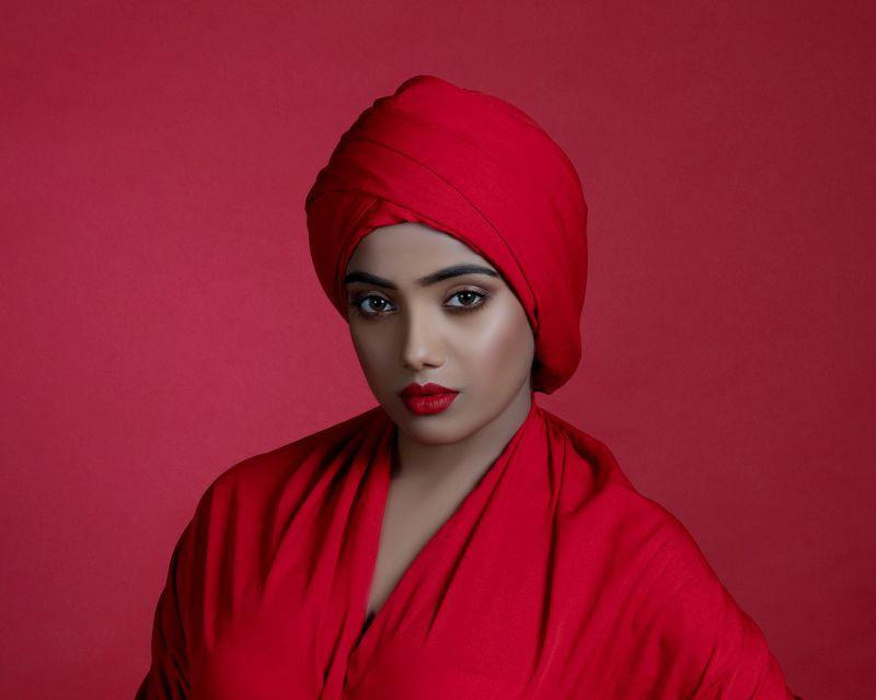 Red Draped, Mitra  Piyali , India