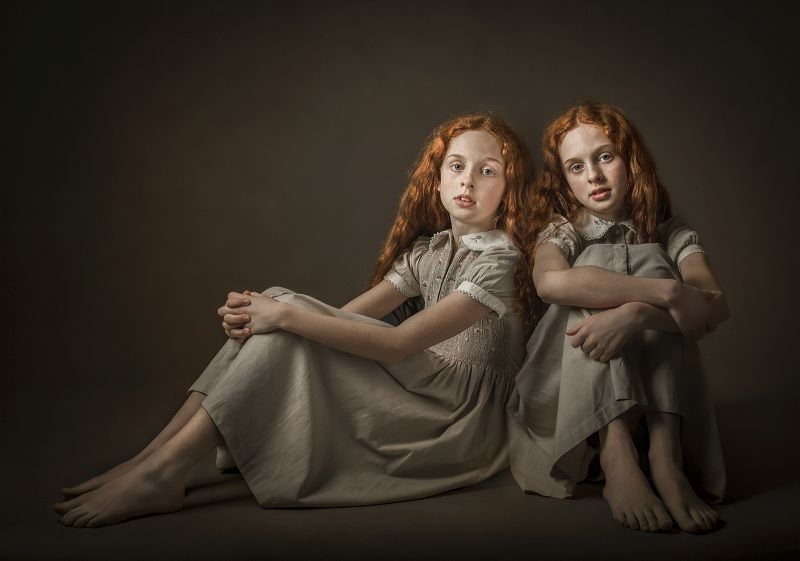 Twins, Norman  Claire , England