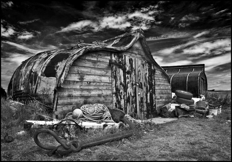 Shed And Anchor, Jackson  Paul , England
