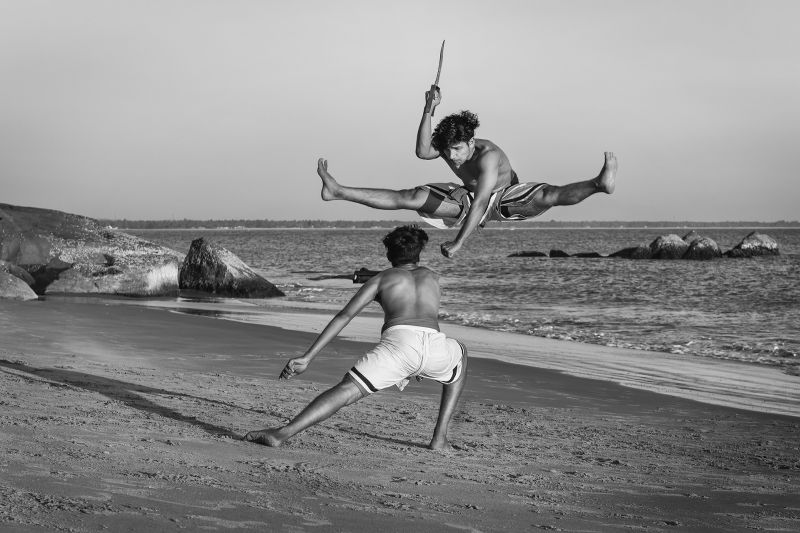 Kalaripayattu Martial Art, Chakraborty  Anupam , India