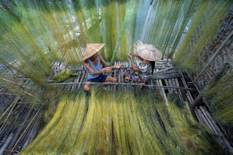 Fisherman Couple, Htet  Hein , Singapore