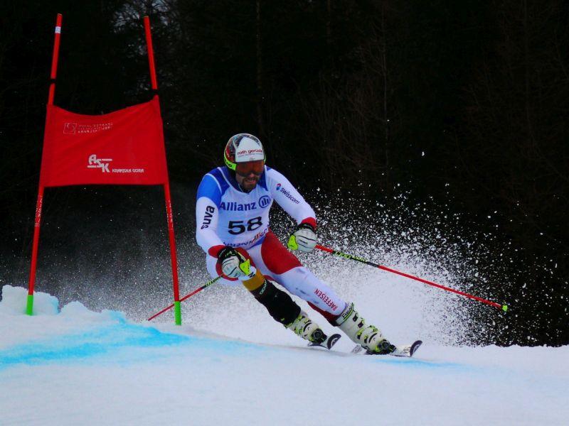 Weak-eyed Skier 2, Bricelj  Bogdan , Slovenia