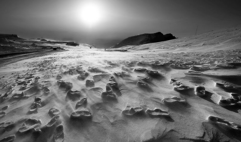 Footprints In The Snow, Cui  Zhoufan , China