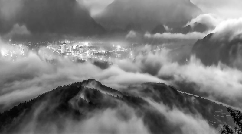 Mist And Clouds, Cui  Zhoufan , China