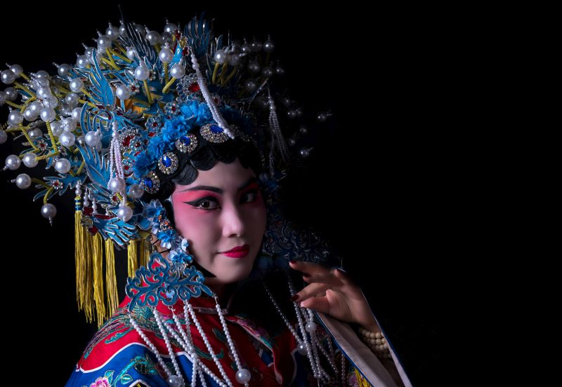 Hua Dan Of Chinese Opera, Mao  Yafeng , China