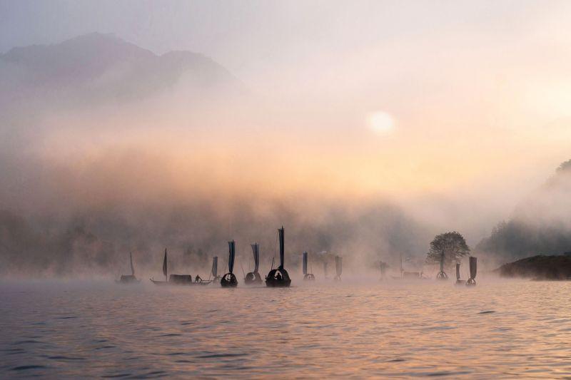 Ou River After Rain, Wang  Chunjie , China