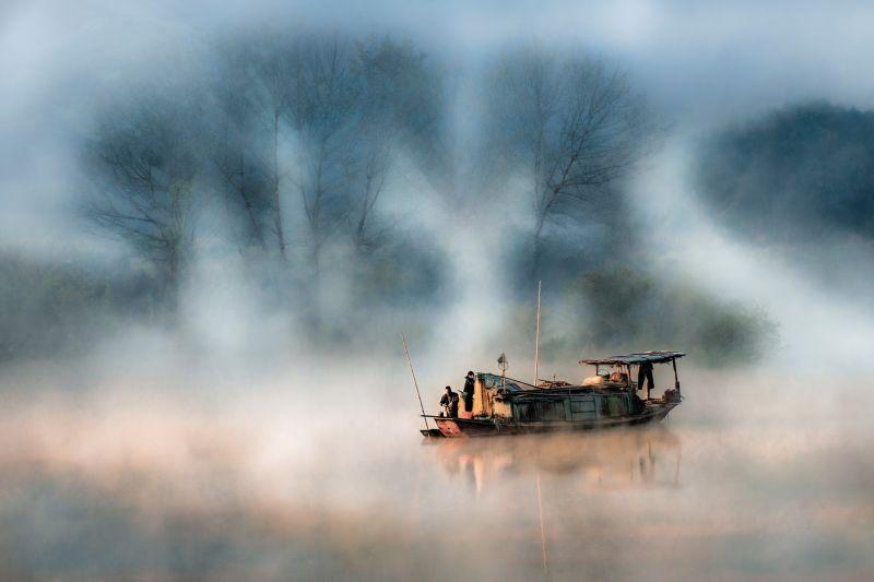 Misty Xiang River, Li  Jianping , China