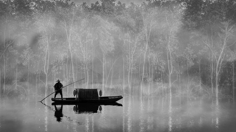 Lake In The Mist 2, Chng  Kim Yiang , Singapore