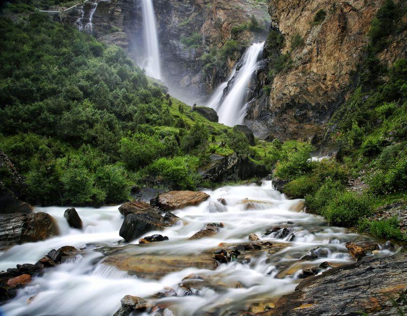 Waterfall, Zhang  Qi , China