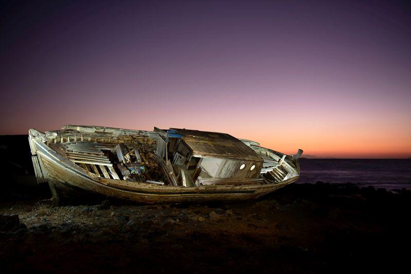 Abandoned Boat Nr2, Chalkiadakis  Kostas , Greece