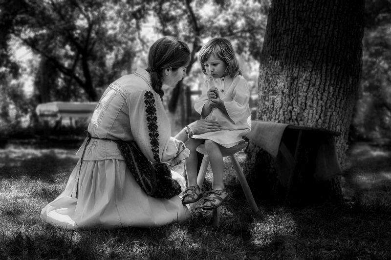 Mother And Daughter, Chalkiadakis  Kostas , Greece
