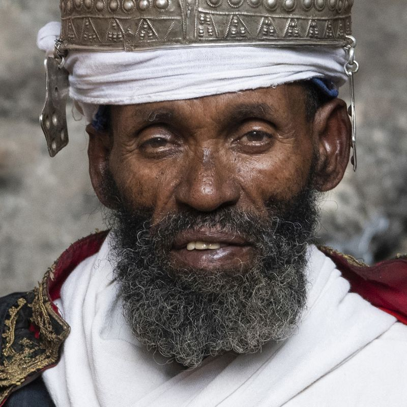 Priest In Ethiopia, Halvas-nielsen  Herdis , Germany