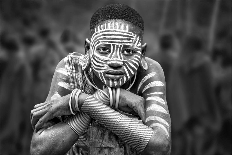 African Tribal Girl, Chan  Ching Ching , Hong Kong