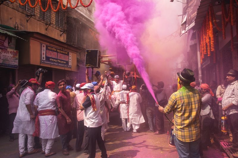 Holi Celebration, Sarkar  Soham , India