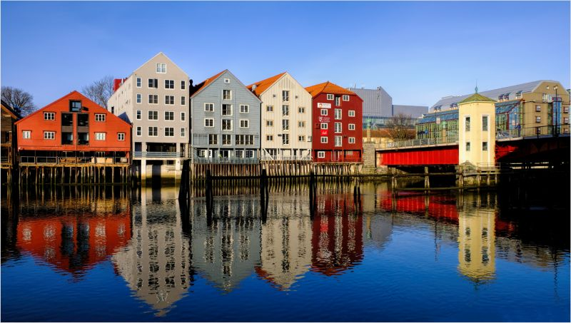 Old Town - Trondheim, Shinner  Gary , Wales