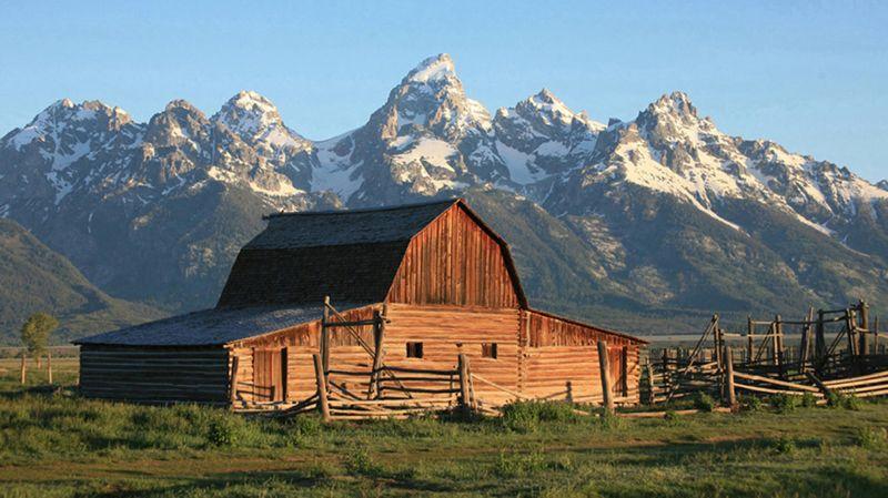 Western Barn, Johnson  Norman , Usa