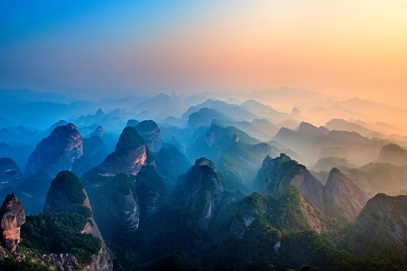 Guangxi Langshan Mountain 3, Yu  Jurong , China