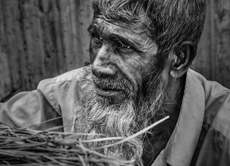 Basket-weaving Elder, Xu  Yuefan , China