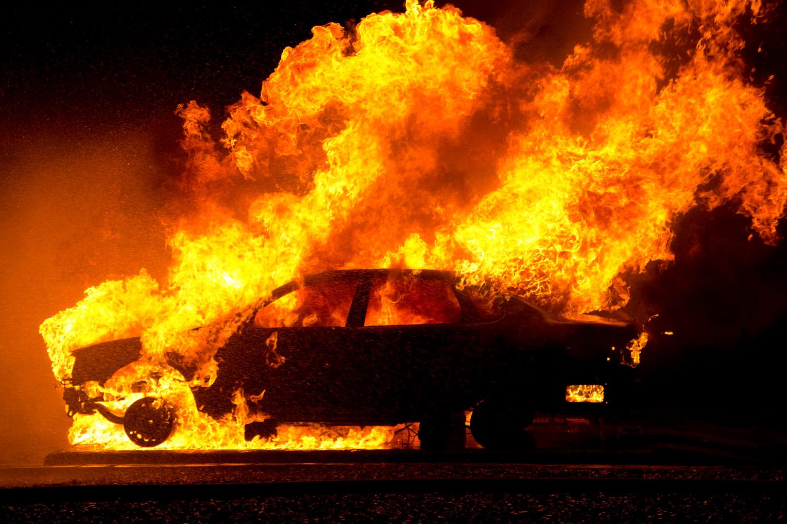 Anne d'Oliveira Fighting the Blaze