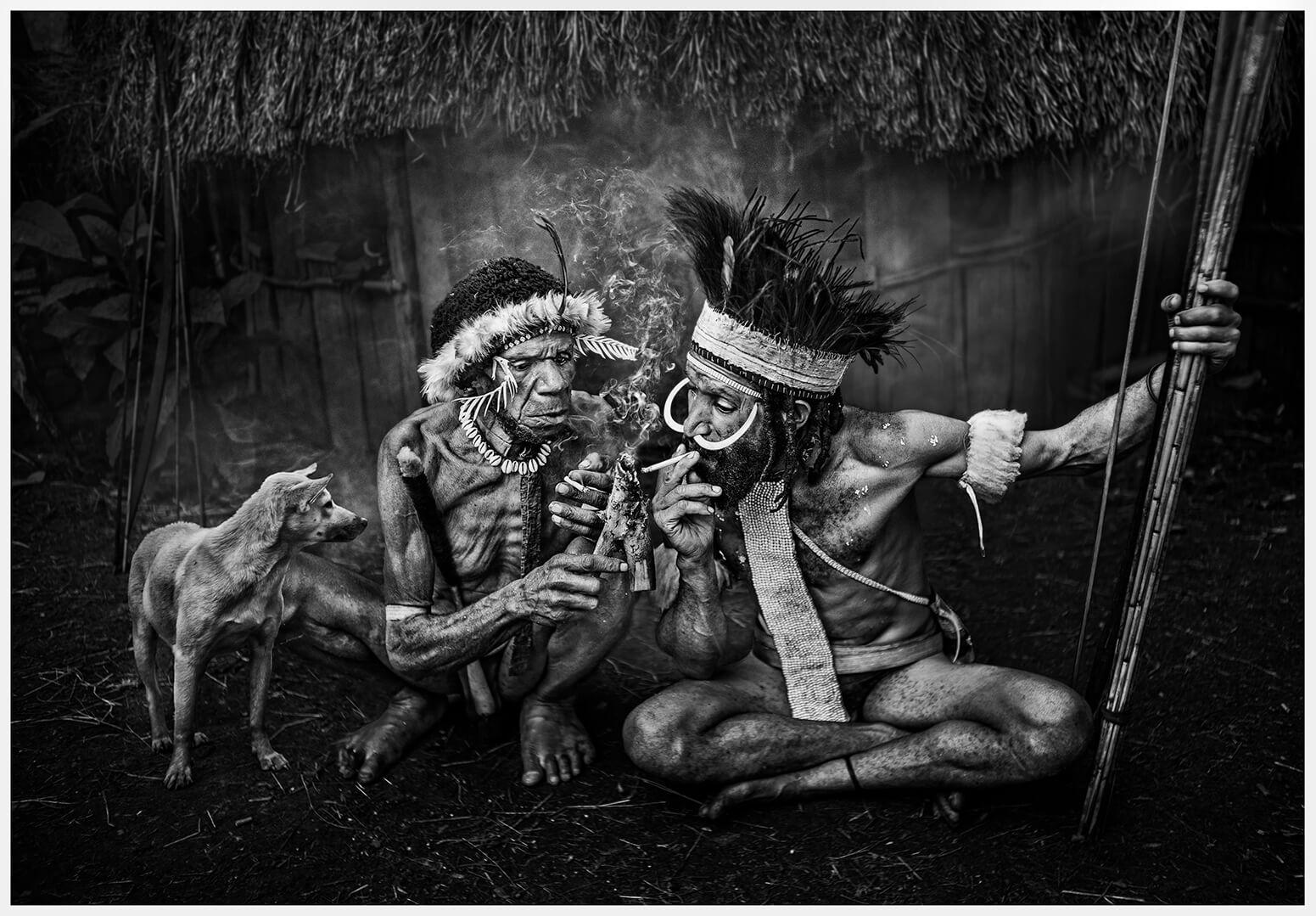 WENDY WAI Man LAM smoking warriors