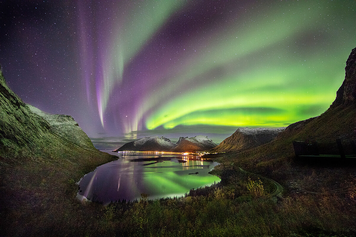 WENDY WAI Man LAM rainbow aurora