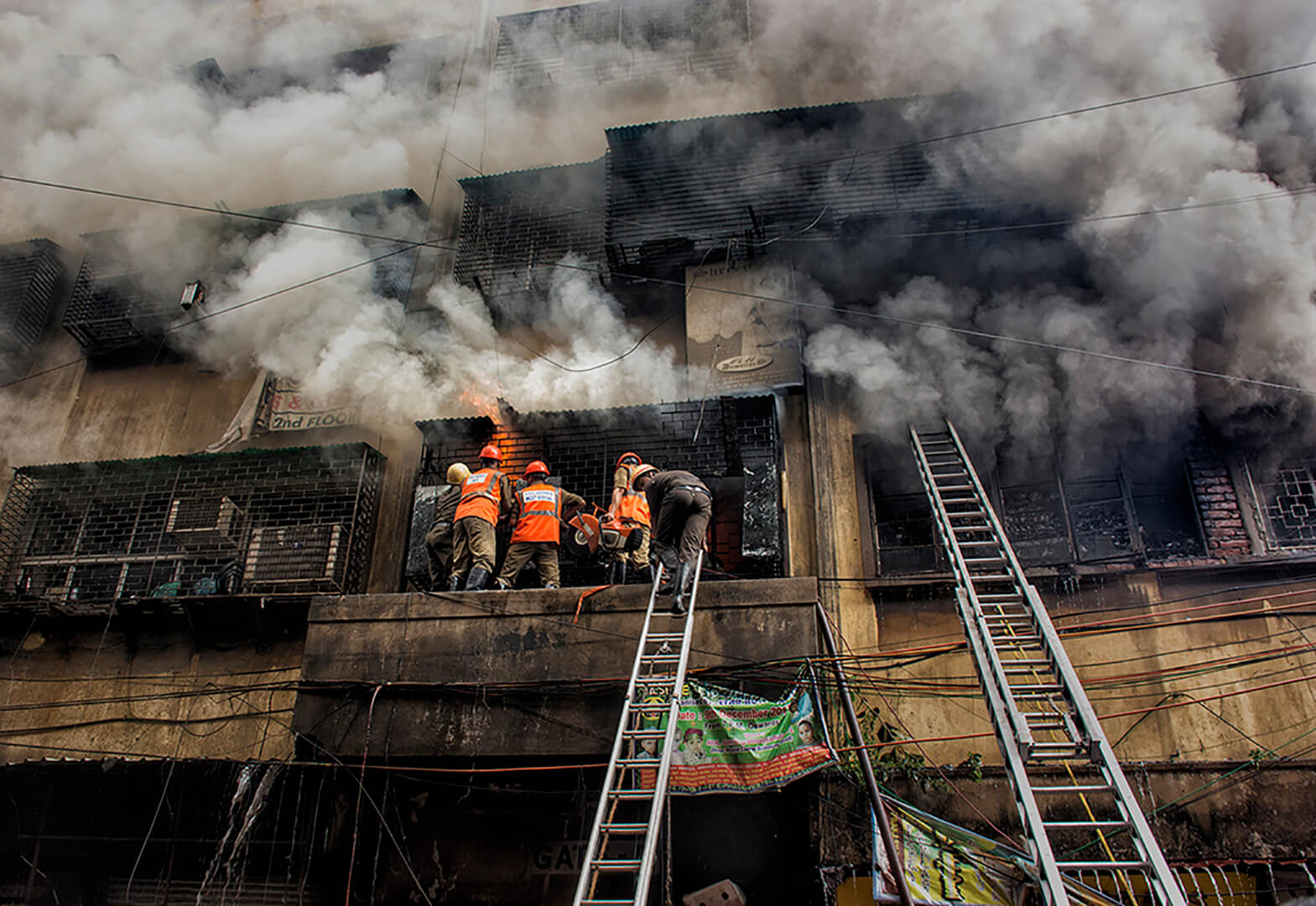 MITHUN DAS Fire in Bagri Market